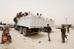 évacuation irak